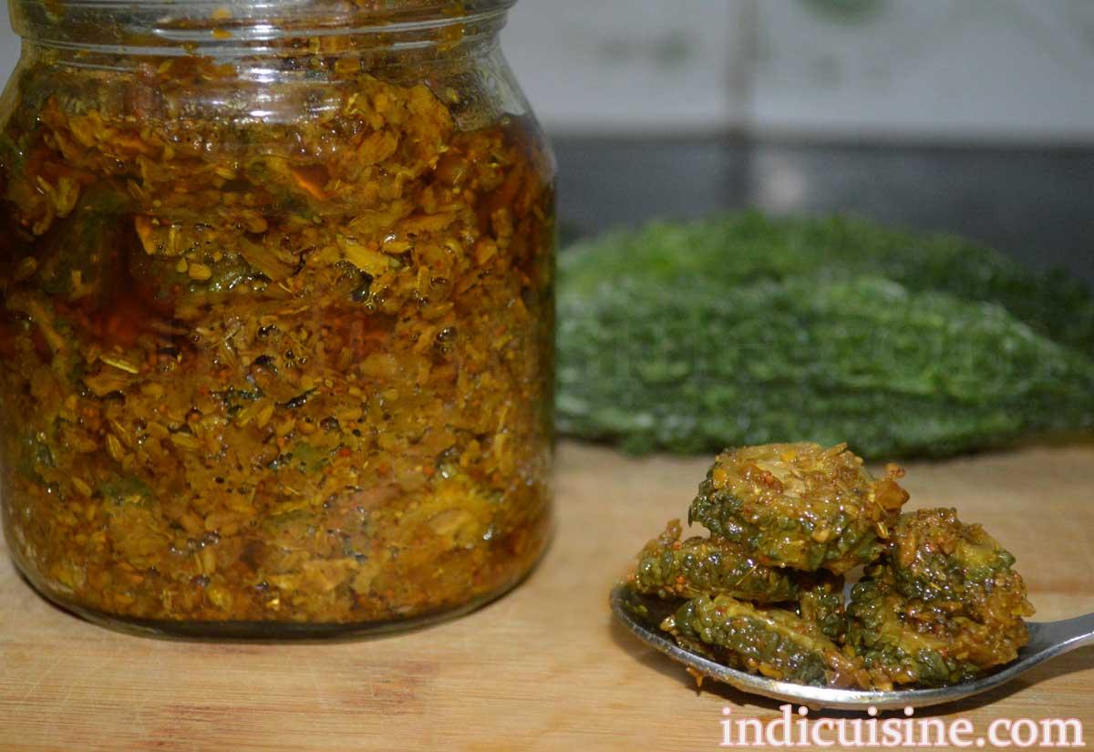 how to make karela achar